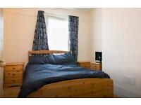 South facing double bedroom with allocated offroad parking space