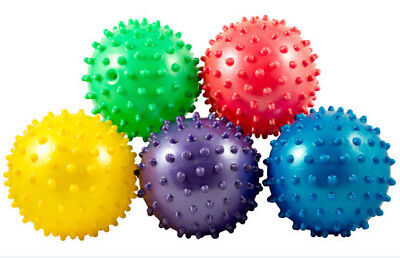 12 Knobby Balls Pinata Fillers Spike Sensory Massage Party Favors Bounce Spiky