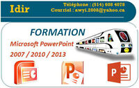 FORMATION MICROSOFT POWERPOINT 2007/2010/2013