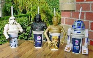 1990s Star Wars figural cups from Taco Bell