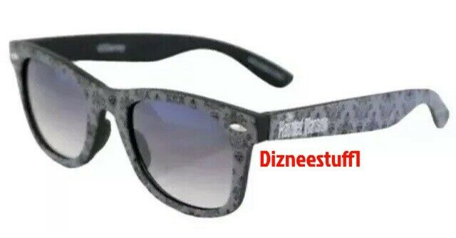 Disney Parks Haunted Mansion Sunglasses Logo Grey Wallpaper Design - NEW
