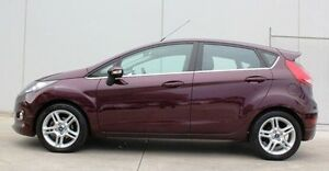 2012 Ford Fiesta WT Zetec PwrShift Purple 6 Speed Sports Automatic Dual Clutch Hatchback Berwick Casey Area Preview