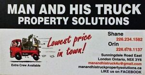 MAN AND HIS TRUCK - Property Solutions London Ontario image 1