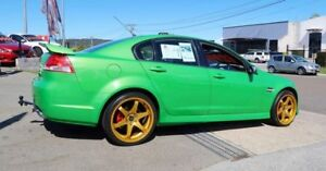 2008 Holden Commodore VE MY09 SV6 Green 5 Speed Sports Automatic Sedan