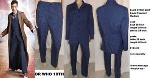 DR WHO STRIPE SUIT West Island Greater Montréal image 1