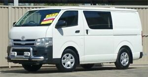 2012 Toyota HiAce TRH201R MY11 Upgrade LWB White 4 Speed Automatic Van Lismore Lismore Area Preview