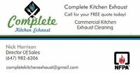 Toronto Kitchen Hood Exhaust Cleaning Service  We CERTIFY