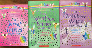 12 RAINBOW MAGIC fairy chapter book collection $15