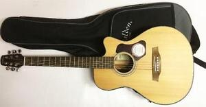 """Walden """"T550CE""""  7/8 Travel-size Guitar Outfit"""