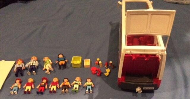 Playmobil coach with 11 figures and accessories as shownin Norwich, NorfolkGumtree - Playmobil coach in excellent condition, complete with driver and passengers (11 figures) and other accessories. Removable roof excellent toy