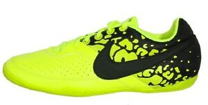 Nike Elastico II IC Indoor Futsal Soccer Shoes 580454-703 Volt/Black Finale