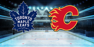 Maple Leafs vs Flames   04 March    2nd Bowl    Blueline Seats