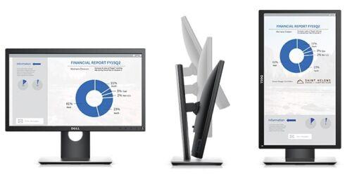 """Dell P2017H 20"""" Professional LED LCD HD Display Monitor - Black - HDMI - DP- VGA"""