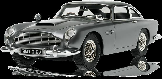 Eaglemoss Aston Martin 1:8 Scale Replica Of The Goldfinger Aston Martin DB5  Working Model