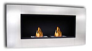 44-WALL-INSERT-ETHANOL-FUEL-ST-STEEL-FIREPLACE-SMOKELESS-FIRE-SAFE