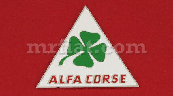 Alfa Romeo Quadrifoglio Alfa Corse Emblem New