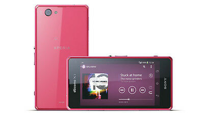 DOCOMO SONY SO-02F XPERIA Z1F COMPACT ANDROID 20MP SMARTPHONE UNLOCKED NEW PINK