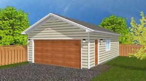 FREE GARAGE  PLAN WITH HOUSE PLAN ORDER !