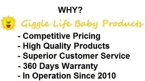 Giggle Life Cloth Diapers - Baby 7-36 lbs, Youth & Adult Sizes Cornwall Ontario image 8