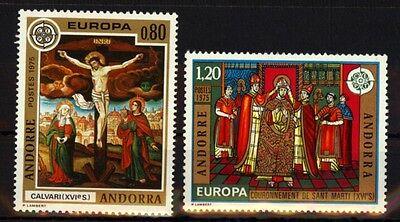 Andorra frz.264/65 Europa postfrisch