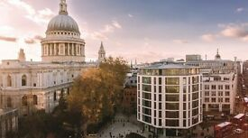 ST PAUL'S Office Space to Let, EC2V - Flexible Terms | 2 - 86 people