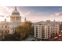 Private Offices & Desk Space in St Paul's (EC2V) - Serviced, modern suites