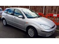 9 YEAR OWNED 2002 FORD FOCUS LX 1.4 PETROL GOOD DRIVE MOT MAY 2017
