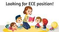 Looking for ECE position