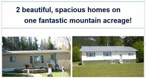 Beautiful Acreage with 2 Homes For Sale in Golden, BC