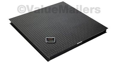 Saga Floor Scale Pallet Scale Platform Scale Postal 6600 Lb 1lb 4 X 4 48 Wind