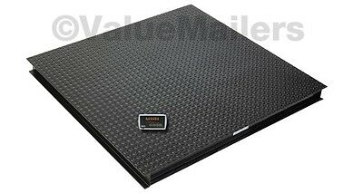 Saga Floor Scale Pallet Scale Platform Scale Postal 6600 Lb 1lb 4 X 4 40 Wind