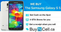 WANT TO BUY SAMSUNG GALAXY S5 S6 NOTE 4 OR ALPHA - 6 STORES