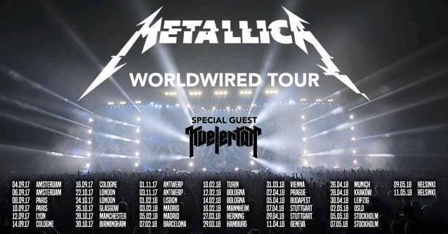 Metallica Tickets Standing