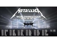 Metallica Ticket - Birmingham - October 30th 2017 - SOLD OUT EVENT