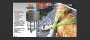 Hot Rok oven and serving trays
