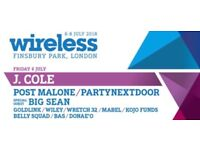 2 WIRELESS TICKETS FRIDAY JULY 6TH