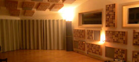 PROFESSIONAL RECORDING MUSIC STUDIOS FOR RENT MONTHLY