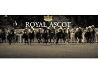 Royal Ascot VIP day, free bar, lunch and more