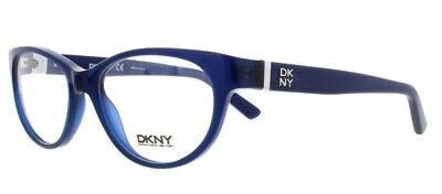 DKNY DY 4655 3644 Eyeglasses Frames Glasses Polished Dark Blue 51-16-140