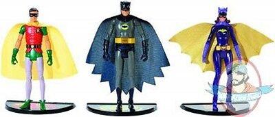 Batman Classics 1966 TV Series Wave 1 Set of 3 Figures by (Batman Classic Tv Series Figures Wave 3)