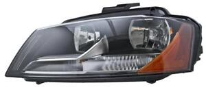 2009 to 2013 Audi A3 Headlight, Headlamp Used | Clean & Undamaged / Left = Driver Side