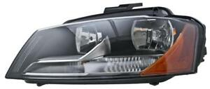 2009 to 2013 Audi A3 Headlight, Headlamp Used | Clean & Undamaged / Right = Passenger Side