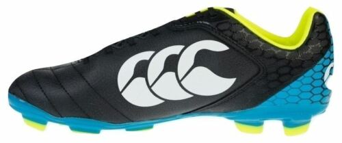 Stampede Club Blade Canterbury Rugby Boots in Black