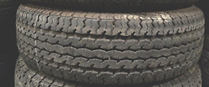 85% TREAD LEFT ON 2 TIRES P205/75R14 TRAILER TIRES Maxxis M8008