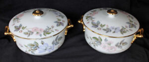 ROYAL WORCESTER - JUNE GARLAND - ACCY PIECES