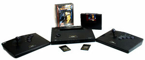 Neo Geo AES GOLD with original box and games