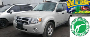 2008 Escape-4WD, 4cyl , Leather, Totally Loaded & Certified