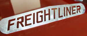Old Style Freightliner hood badge