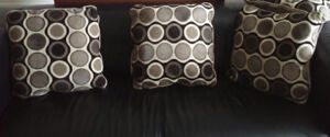 Set of 4 Cotton/Polyesther Couch Pillows