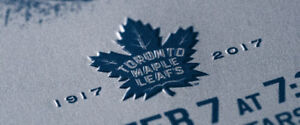 Leafs Tickets for sale, 100 Section, vs. Carolina, Sell Quick!